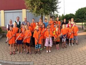 Sommervorspiel der Bläser- und Musizierklassen 2013