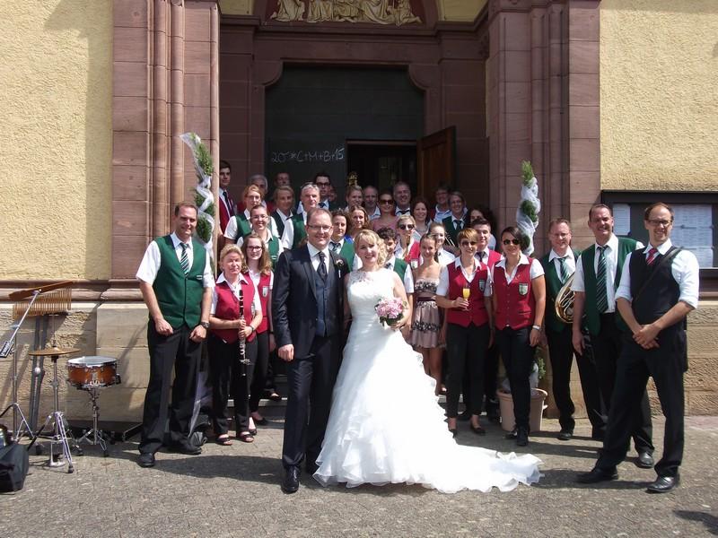 Kirchliche Hochzeit von Mareike Bing und Holger Klein