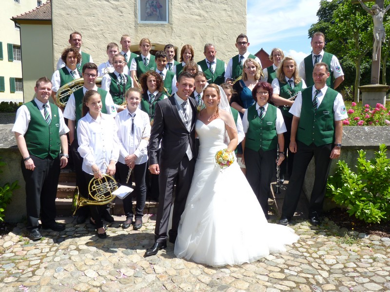 Kirchliche Hochzeit von Marion und Patrick Lorenz