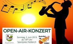 Open-Air-Konzert mit der DJK Feldkirch