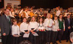 Sechs Jungmusiker-Leistungsabzeichen verliehen